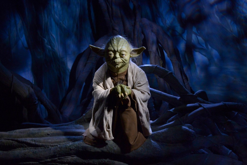 Star Wars' iconic character, Yoda. Photo: Tim Whitby / Contributor