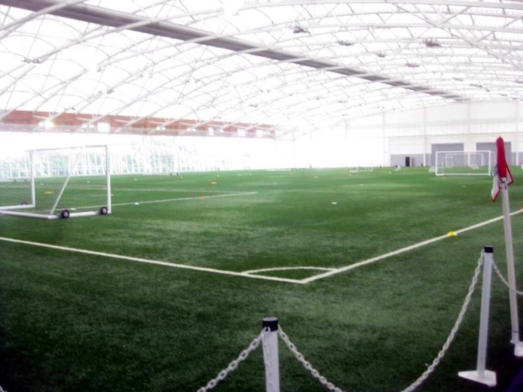 St George's Park, the English FA's state-of-the-art training facility. Photo: Dave Wright