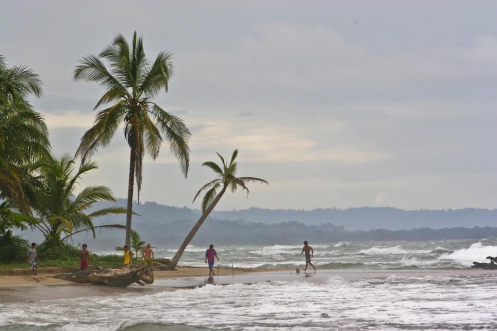 Beach football in Costa Rica. Photo: Mike Stenhouse
