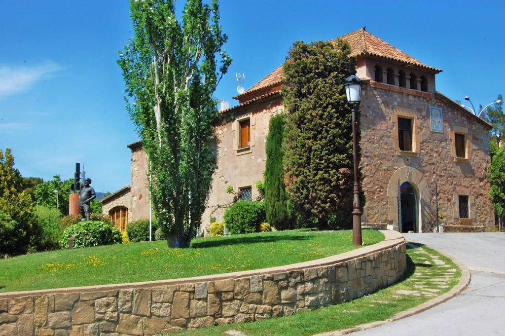 Barcelona's famous La Masia Academy. Photo: Maria Rosa Ferre