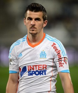 Joey Barton (Marseille) SOCCER : Marseille vs Lille - League 1 - 11/25/2012 (Panoramic) Picture supplied by Action Images PLEASE NOTE: FOR EDITORIAL SALES ONLY. CONTRACT CLIENTS: ADDITIONAL FEES MAY APPLY - PLEASE CONTACT YOUR ACCOUNT MANAGER