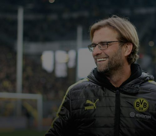 Jurgen Klopp during his time at Borussia Dortmund.