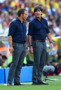 Joachim Lo?w, German National Team Manager (right). Photo: viraj902101