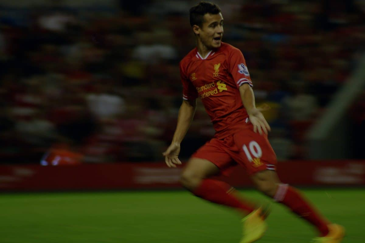 Phillipe Coutinho for Liverpool.
