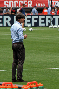 German National Team Manager, Joachim Lo?w. Photo: KBE