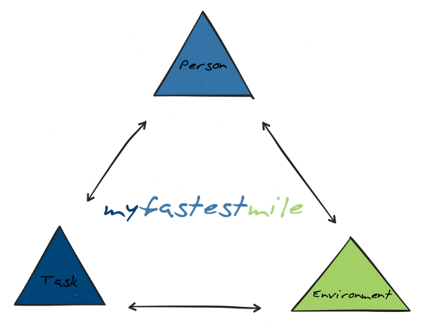 Image: Constraints framework as defined by Newell (1986)