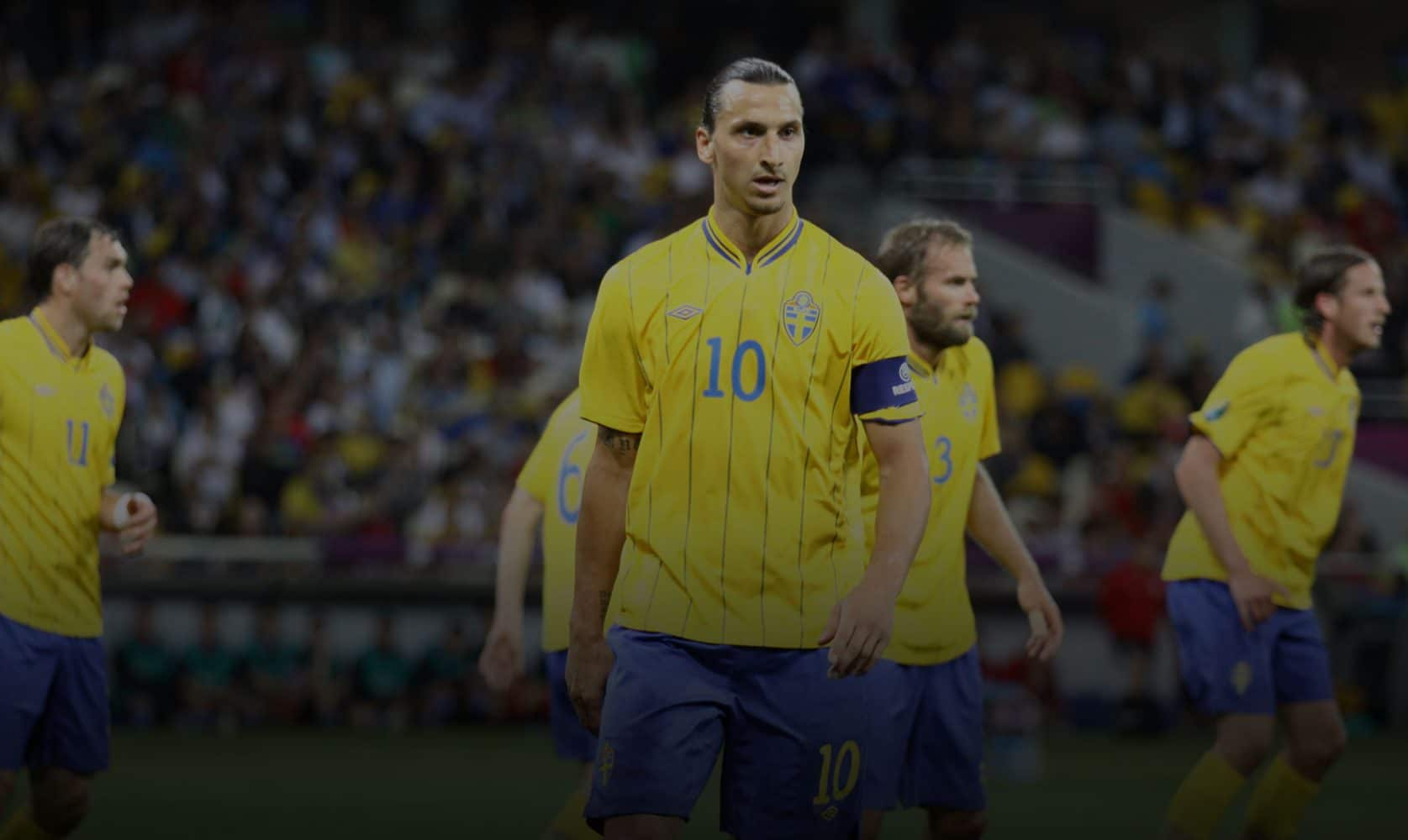 Zlatan Ibrahimovic for Sweden.