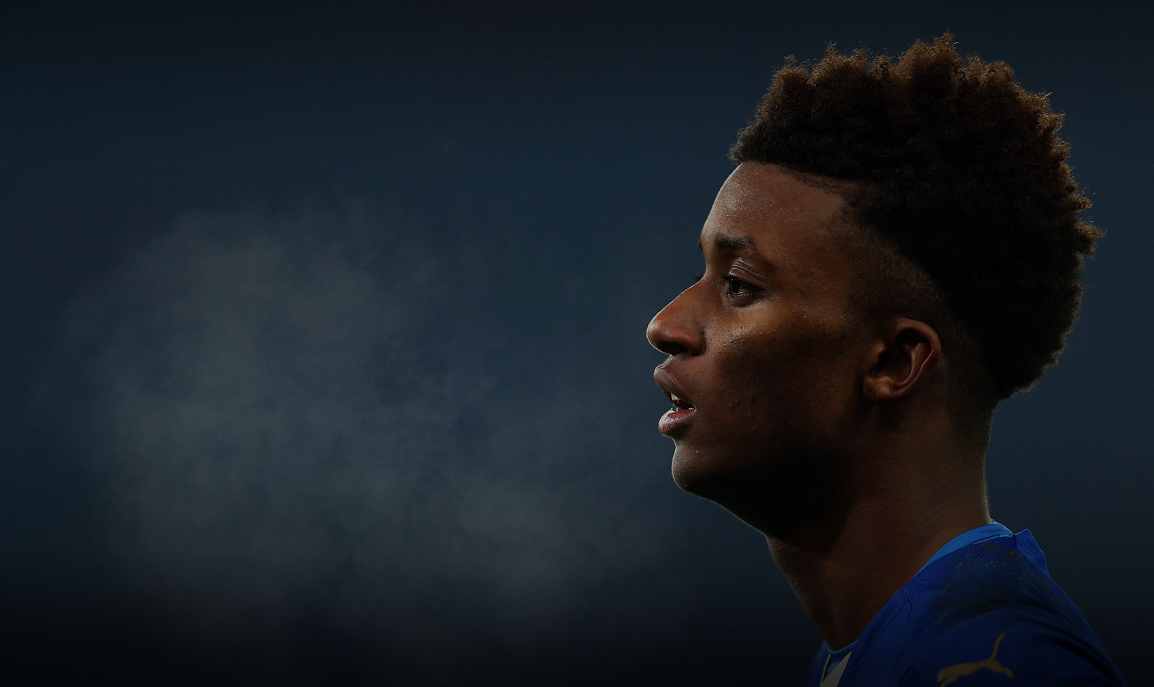 Demarai Gray of Leicester City during the Emirates FA Cup match between Leicester City and Tottenham Hotspur at King Power Stadium on January 20, 2016 in Leicester, England. Photo: Catherine Ivill - AMA / Contributor