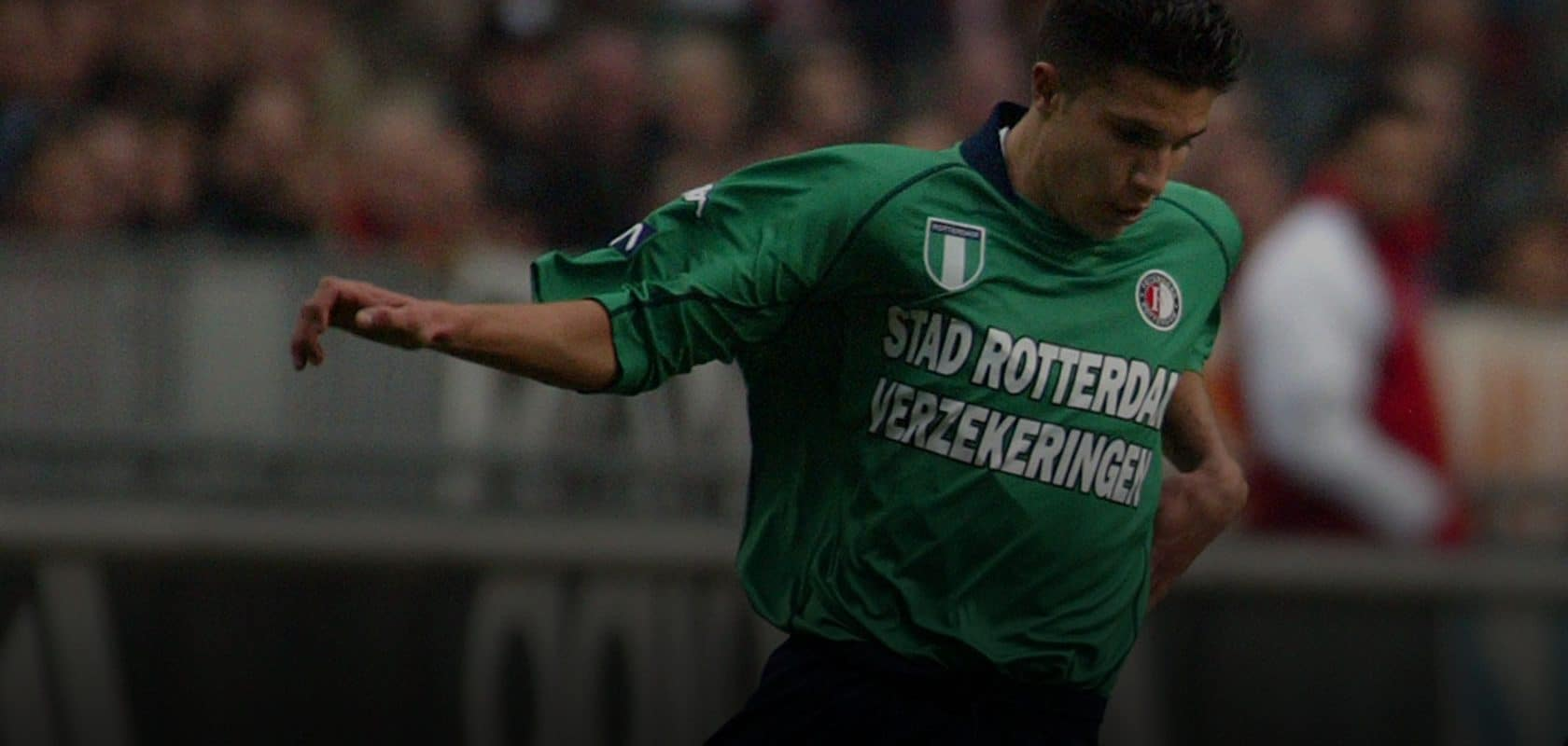 Robin van Persie for Feyenoord against Ajax, February 9, 2003. Photo: VI-Images / Contributor