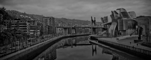 From the bridge of the University of Deusto. Photo: Alberto Bringas