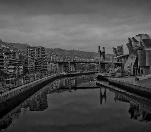 From the bridge of the University of Deusto. Photo: Alberto Bringas