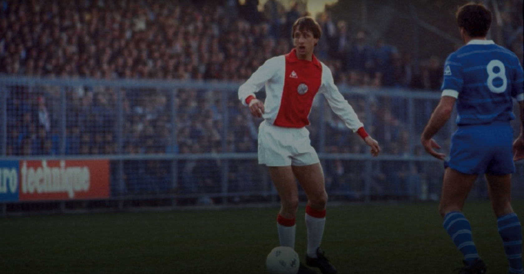 Johan Cruyff for Ajax.