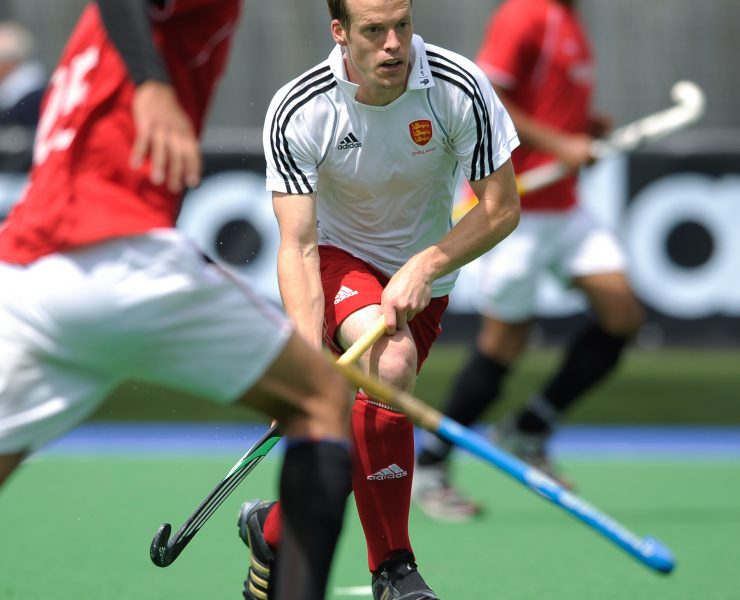 England's Masrk Pearn during the first of two test matches at Bisham Abbey NSC, Marlow, Bucks, 7th July 2011.