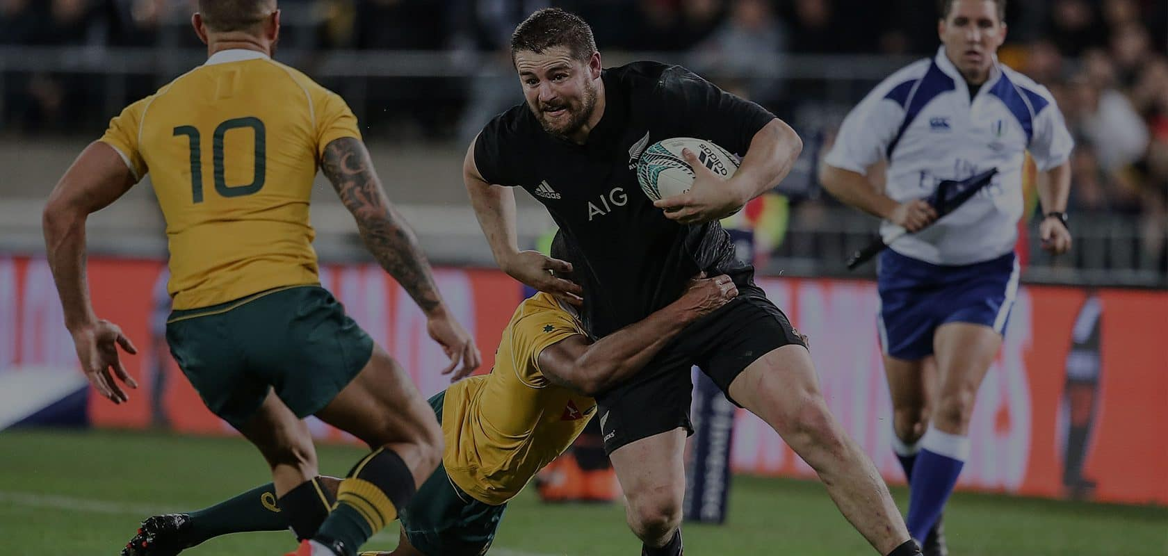 Dane Coles for the All Blacks.