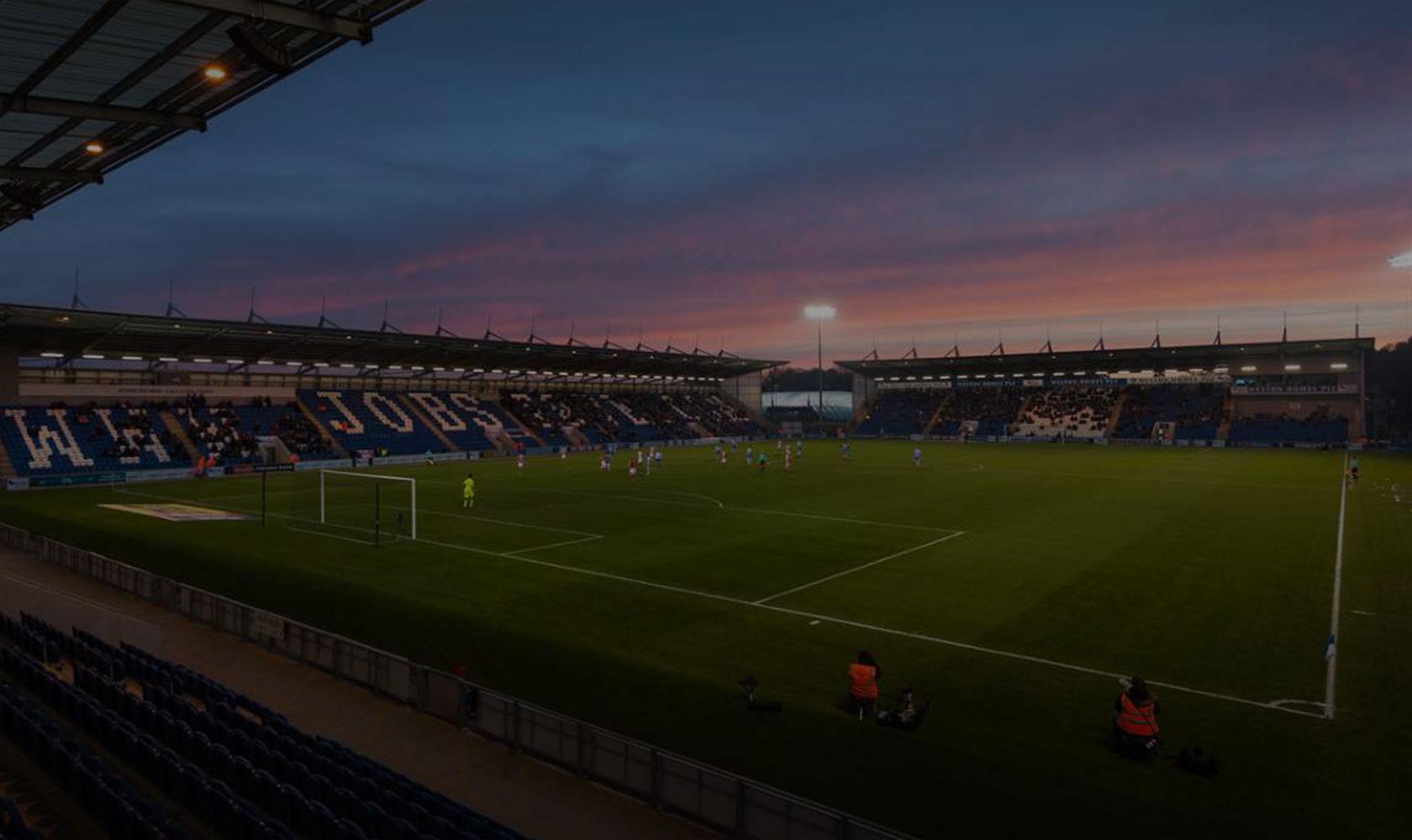 Colchester United Stadium. Photo: www.cu-fc.com
