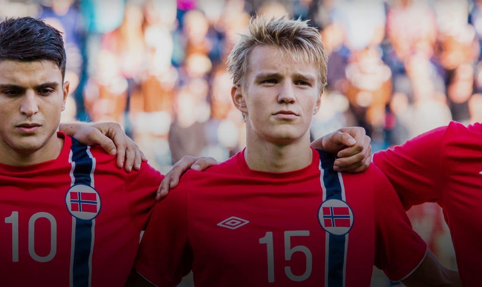 Martin Ødegaard for Norway.